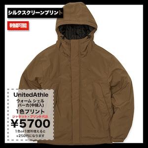 United Athle ウォーム シェル パーカ(中綿入) (品番7499-01)