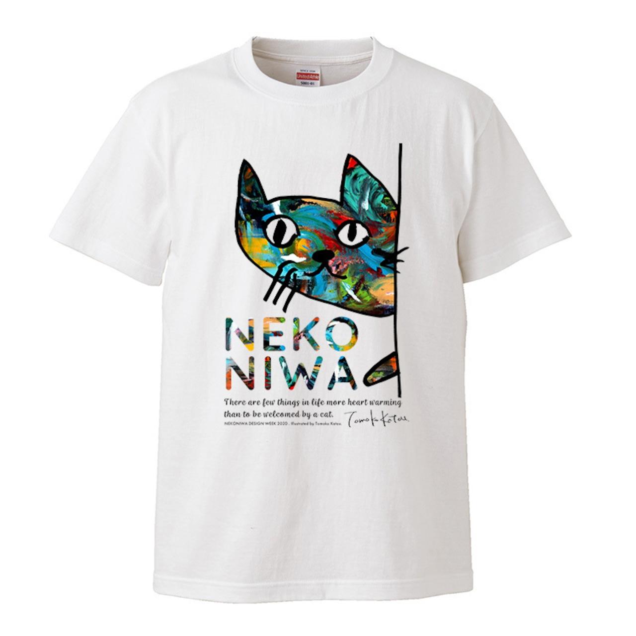 猫庭Tシャツ +TOMOKO KATOU model ■planeetta 送料無料‼