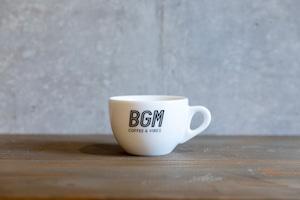 BGMオリジナルカップ(ラージカプチーノ)