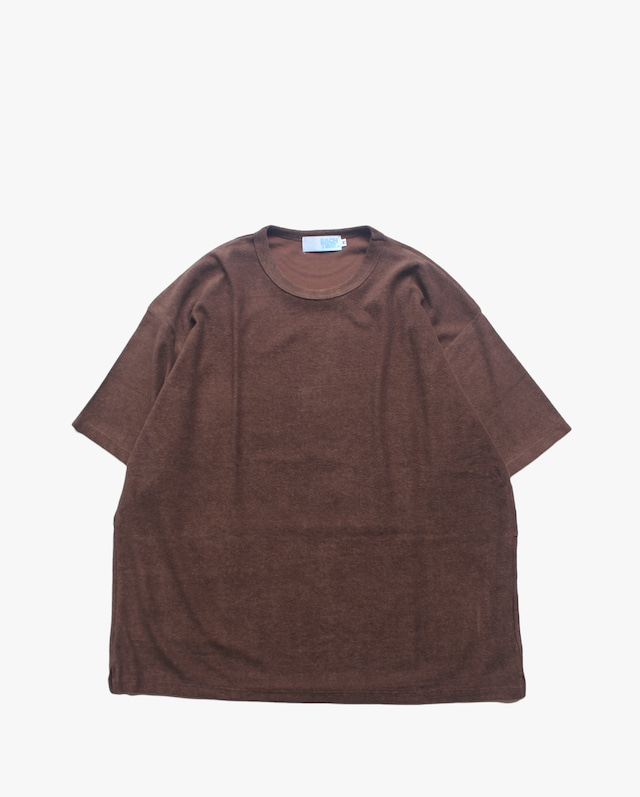 """EACHTIME. Pile T-Shirt """"Big"""" Brown"""
