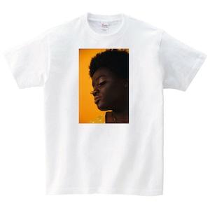 デザイン Tシャツ メンズ レディース 半袖 写真 ゆったり おしゃれ トップス 白 ペアルック プレゼント 大きいサイズ 綿100% 160 S M L XL