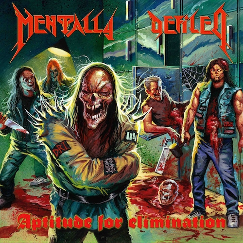 """MENTALLY DEFILED """"Aptitude For Elimination"""" (輸入盤)"""