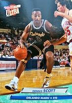 NBAカード 92-93FLEER Dennis Scott #132 MAGIC
