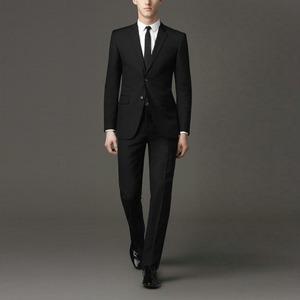 セットアップスリムシングルスーツ Color: Black