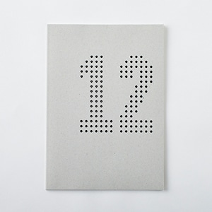 DAILY NOTE/MONOTONE 「12」
