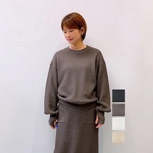 Seagreen(シーグリーン) BIG WAFFLE プルオーバー 2021秋冬新作 [送料無料]