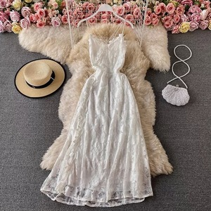 lace camisole dress 2color
