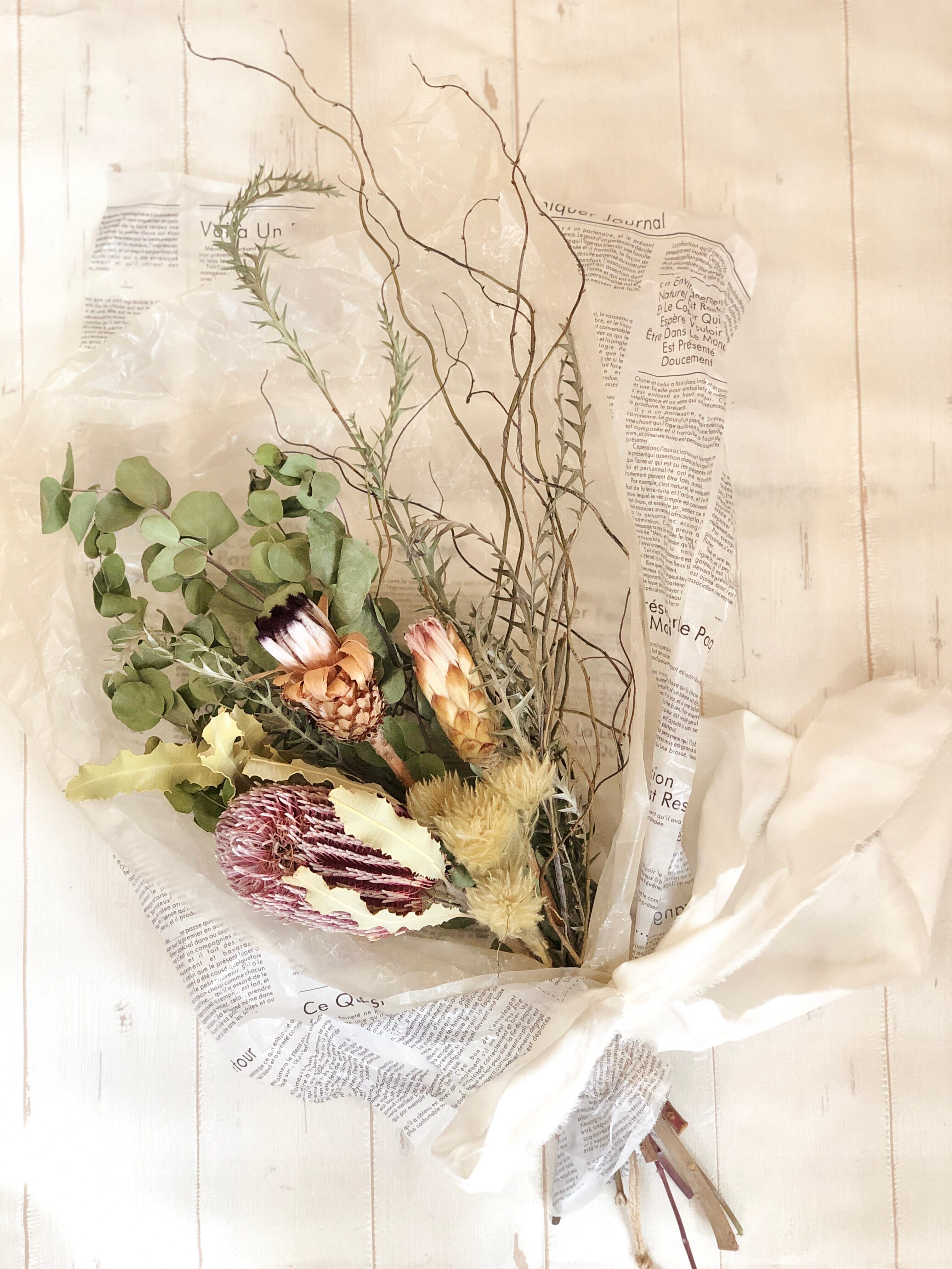 (Re:II) 限定商品 / Dried Flower スワッグType:E