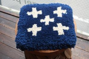 ◆◆【ノッティング◆手織りの椅子敷】◆(小) ◆◆初入荷◆◆◆