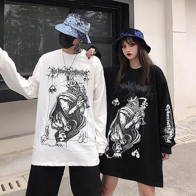 【トップス】プリント切り替えファッションファッションパーカー/ジャージ42912764