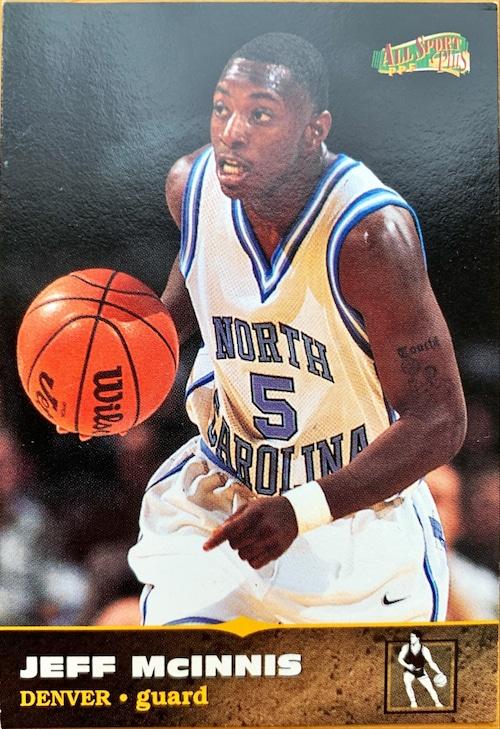NBAカード 96-97SCOREBOARD Jeff Mcinnis #116 NUGGETS
