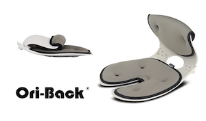 OriBack-オリバックチェア 姿勢サポート(グレー)