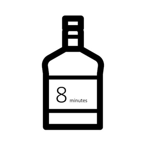 8分語りをキープ(ボトル「Happen」)
