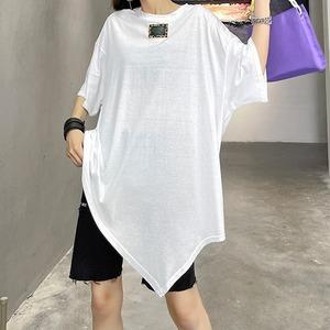 デザイン白Tシャツ   1-018