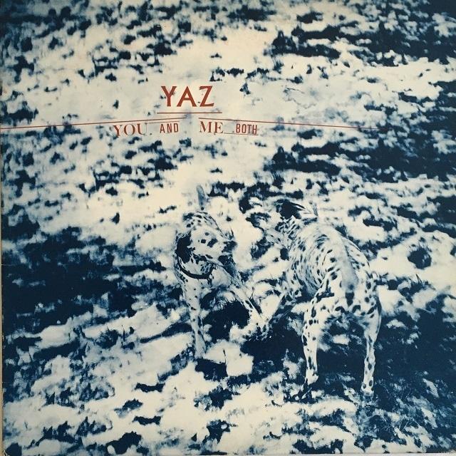 【LP・米盤】Yaz (Yazoo)  /  You And Me Both