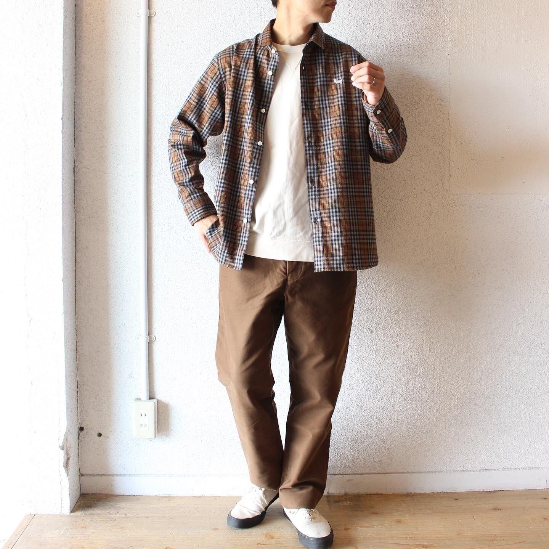 weac (ウィーク) / パグちゃんネルシャツ