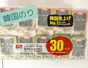 ヤンバン韓国のり30袋