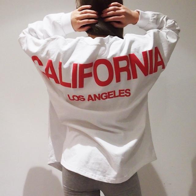 unisex 【RE-ARRIVAL】BIG CALIFORNIA SWEAT