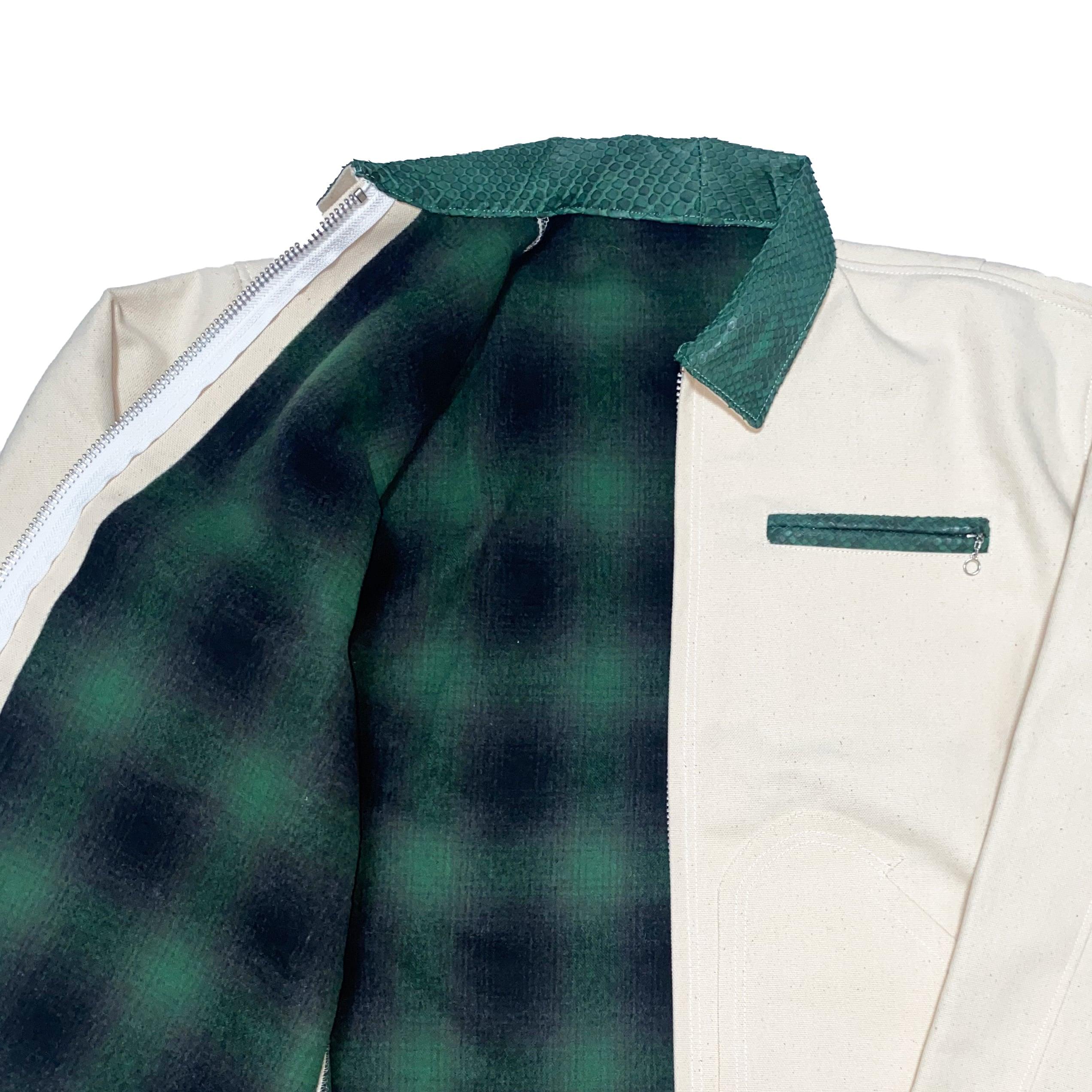 Petroit Work Jacket / White - 画像4