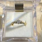 イギリス1940年頃ヴィンテージリング K18  指輪 ダイヤモンド
