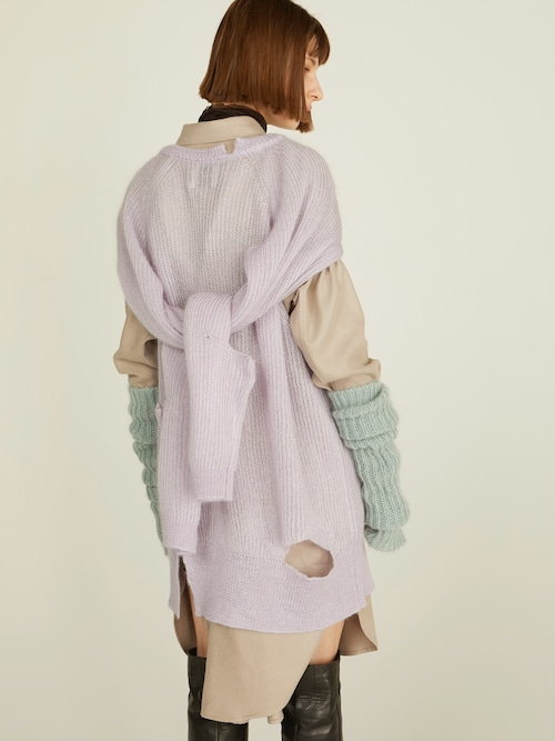 【FILL THE BILL】RAYONSILKFLANNELL LONG SLEEVES