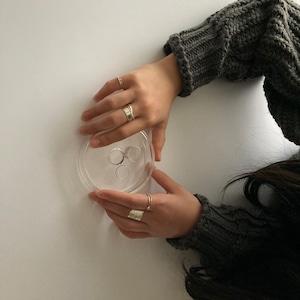 細ポチ ring / silver950