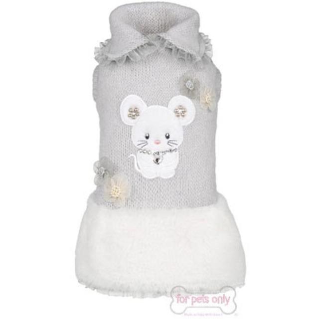 【20%オフ★即納S/SM】FOR PETS ONLY TOPOMIO & SNOW GREY DRESS (AI2018-P20)