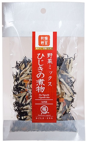 乾燥野菜ミックス ひじきの煮物 15g【送料無料】