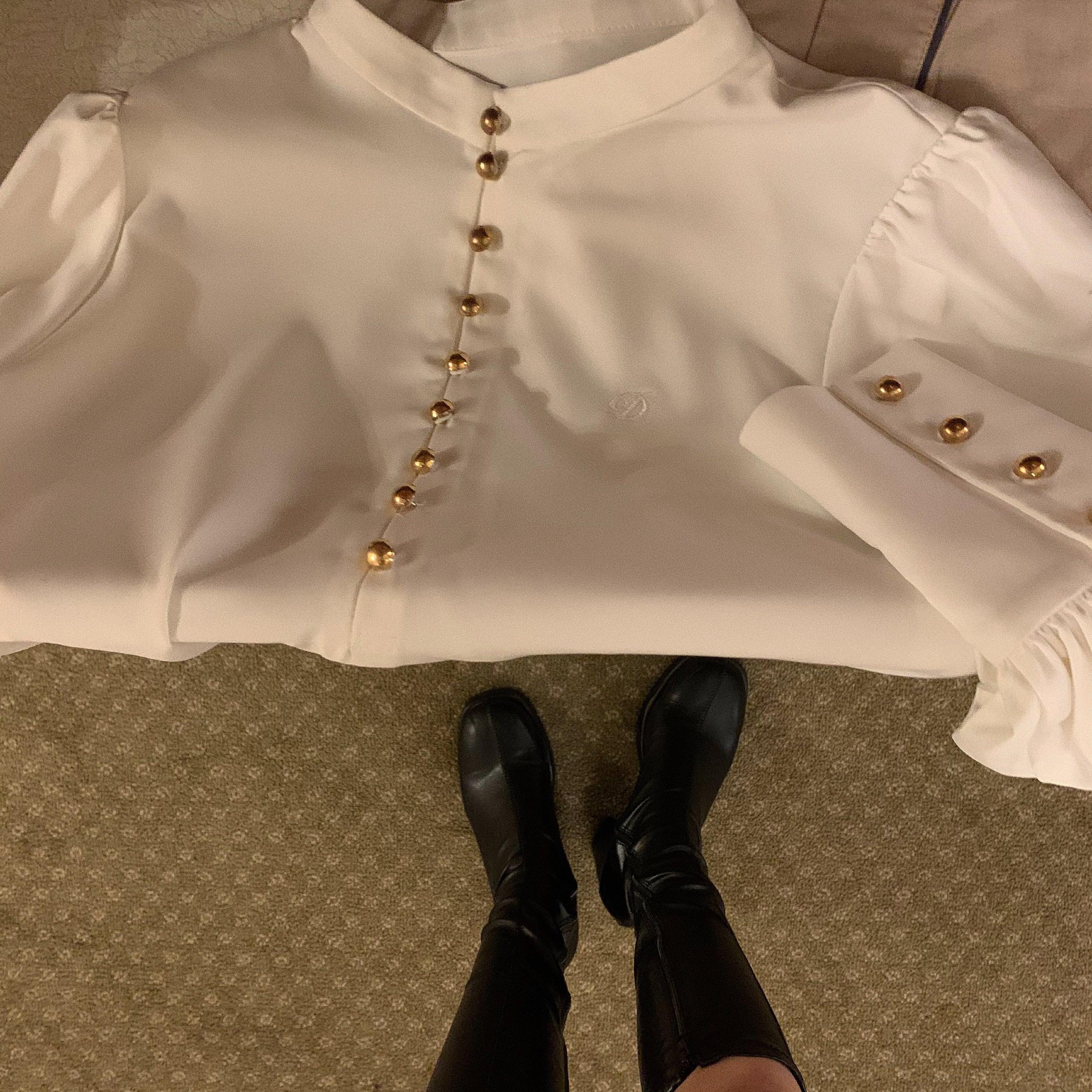 Désir original embroidery blouse