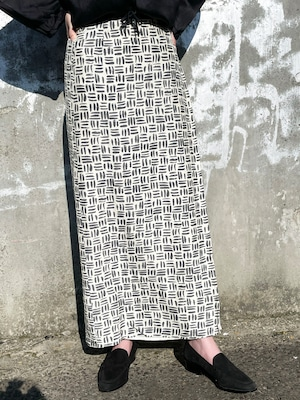 Vintage Silk Nep Wrap Skirt Made In Italy