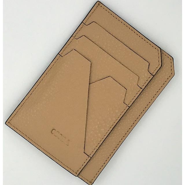 amiサンドベージュ【OSOBA small wallet】