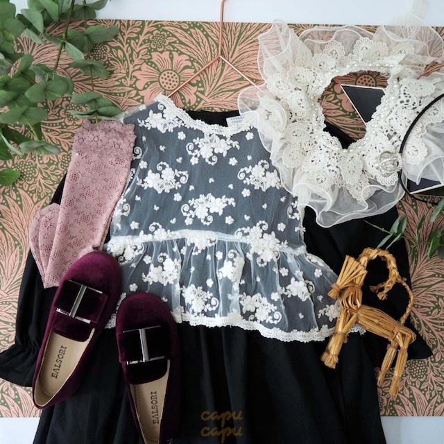«即納/予約» Eugenie Candies BlingBling lace vest ブリングブリングレースベスト