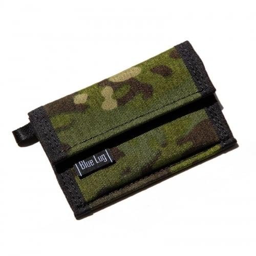 BLUE LUG micro wallet X-pac(マルチカム)ブルーラグ マイクロウォレット