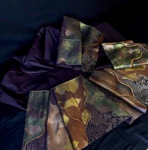 〈古典紋様の袋帯〉織り出し トール スタイリッシュ クール オトナ お洒落
