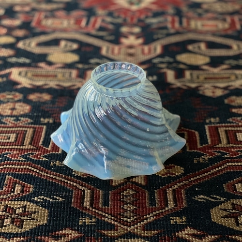 Antique Opalescent glass shade