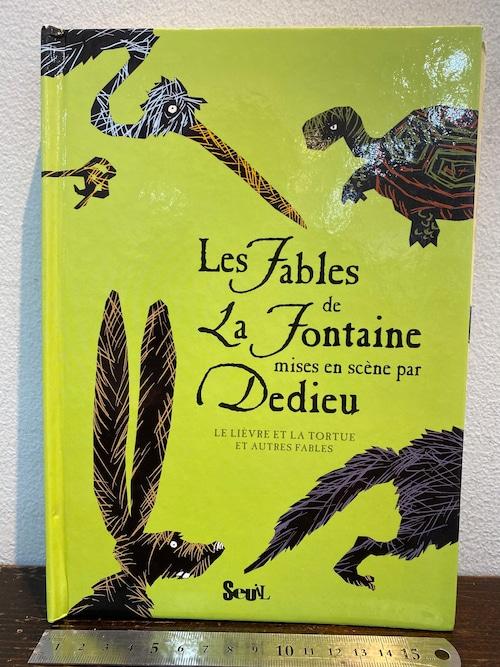洋書 しかけ絵本 Les Fables de La Fontaine par Dedieu