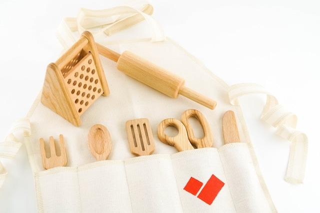 キッチンセット☆~ 木製 モンテッソーリ 木のおもちゃ