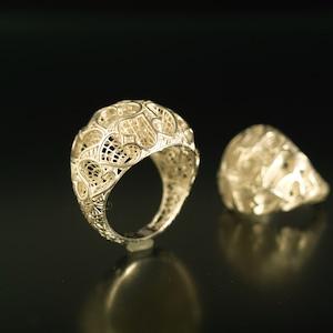 inGod jewels LoveRing 『セブンティーン ハート』18金イエローゴールド