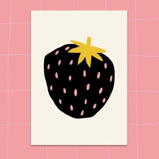 "Jennifer Bouron ""Strawberry"" Postcard"