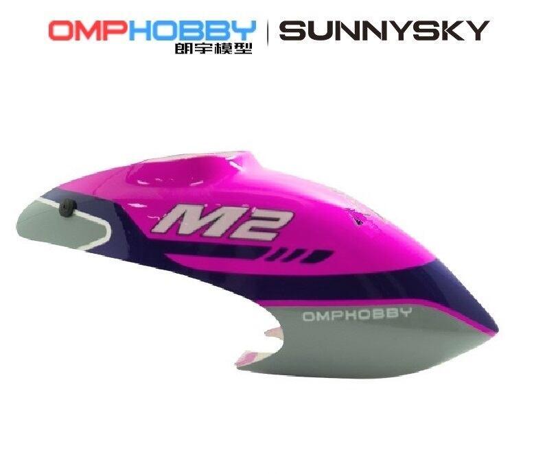 ◆OSHM  M2 V2キャノピー 2040,2041,2119  カラー /オレンジ、イエロー、パープル (ネオヘリでM2購入者のみ購入可)