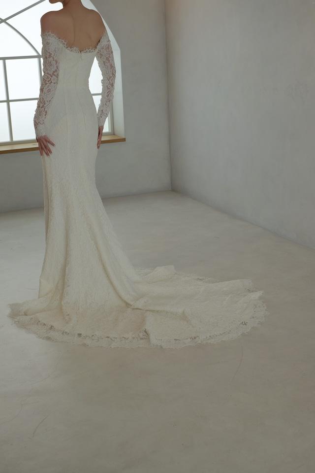 Wedding Dress/rental/Mermaid/DR6017
