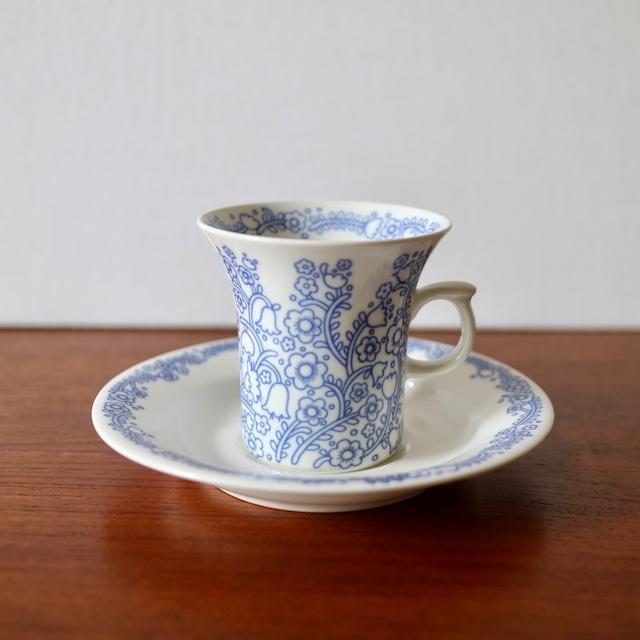 [SOLD OUT] Arabia アラビア / Anna アンナ コーヒーカップ&ソーサー