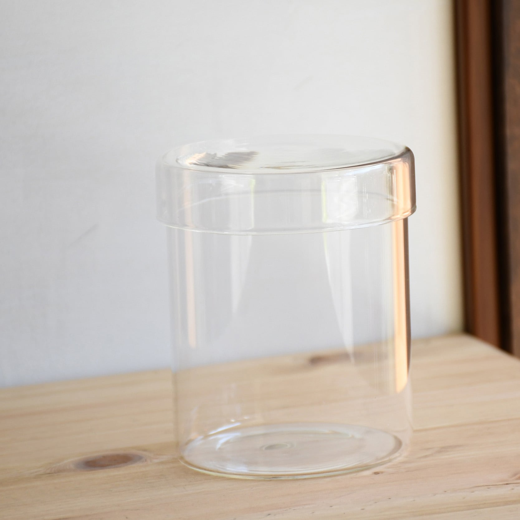 【ガラス容器】シリンダーL(直径103xh123mm)◆高さのあるコケの植え付けに
