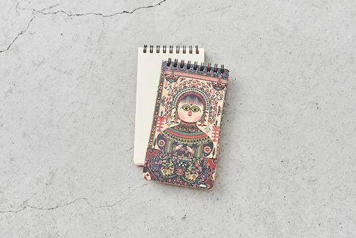 漢聲 中華文化モチーフ ミニノート 剪紙-庫淑蘭 切り絵シリーズ