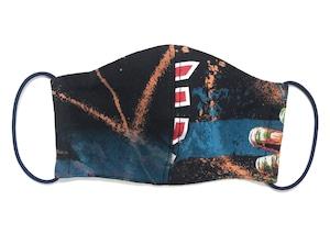 【COTEMER マスク 日本製】 BAND BLEACH MASK M0428014