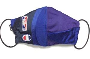 【デザイナーズマスク 吸水速乾COOLMAX使用 日本製】NBA  CRAZY PATTERN SPORTS MIX MASK CTMR 1130018