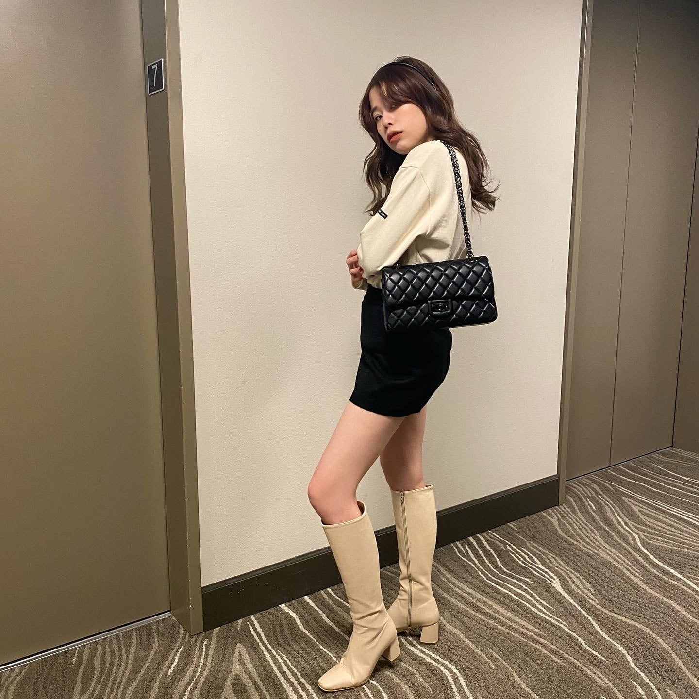 【23,23.5, 25 only】DAYNYC long boots