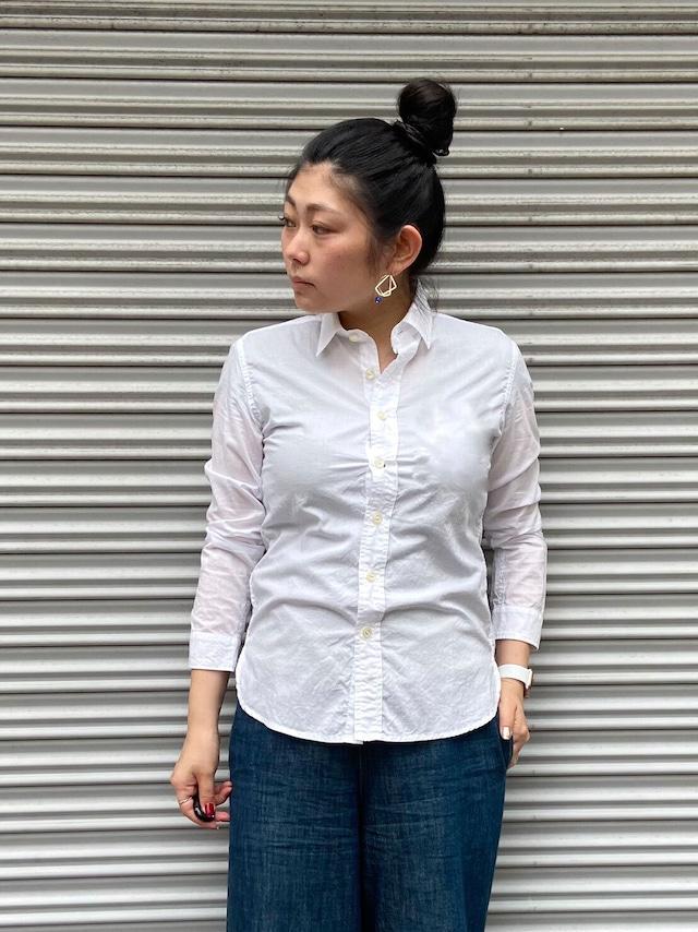 【ONEWASH】綿ローンシャツ