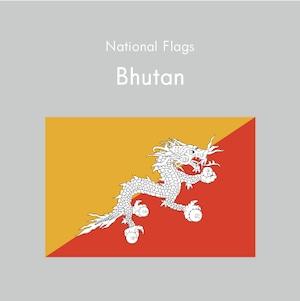 国旗ステッカー ブータン