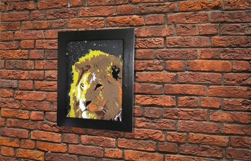 LION (額入り特別作品)